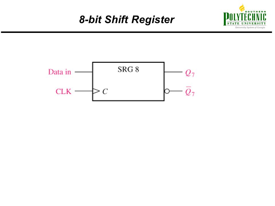 8-bit Shift Register