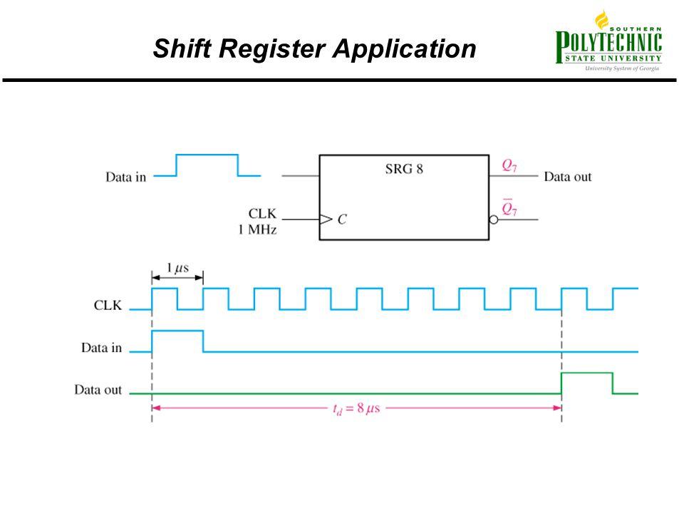 Shift Register Application