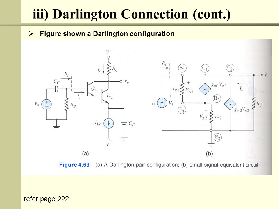 iii) Darlington Connection (cont.)