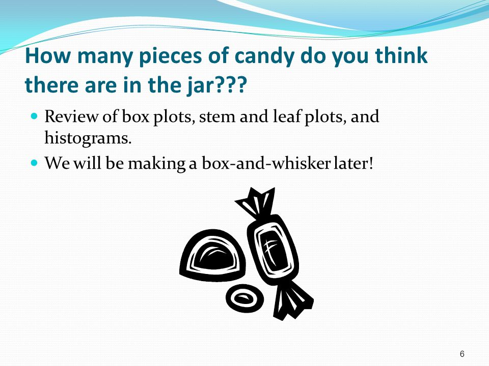 How many pieces of candy do you think there are in the jar