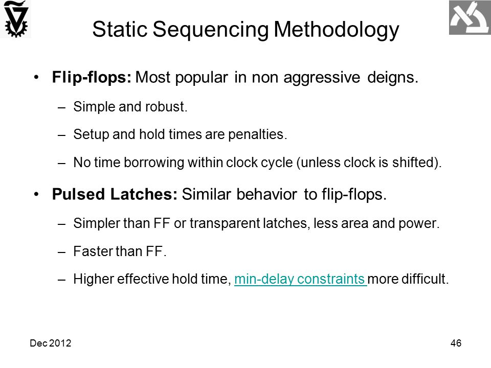 Static Sequencing Methodology