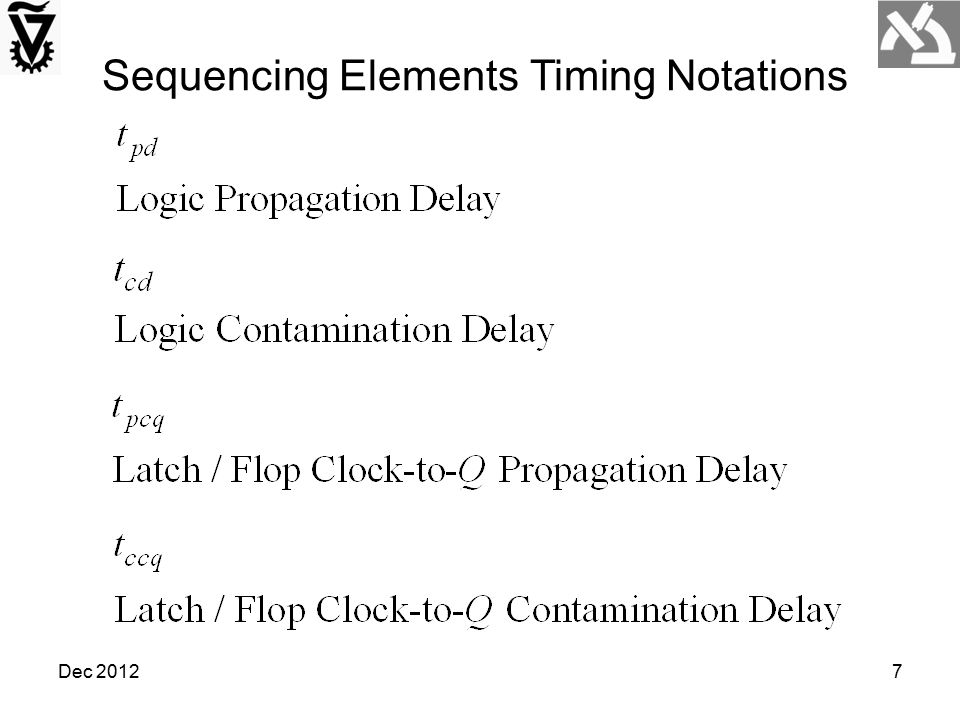 Sequencing Elements Timing Notations