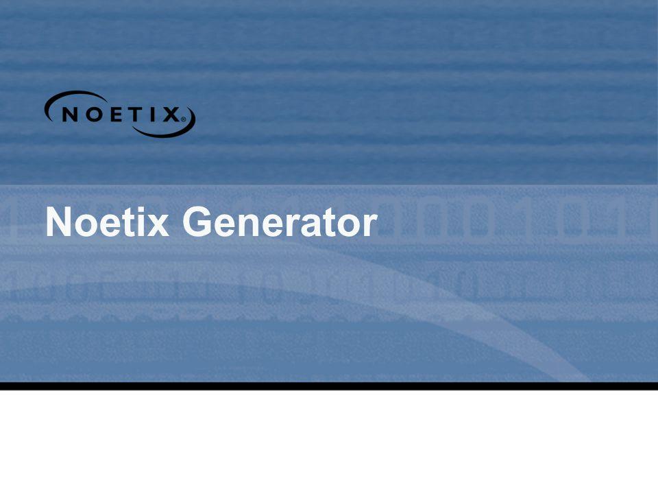 Noetix Generator