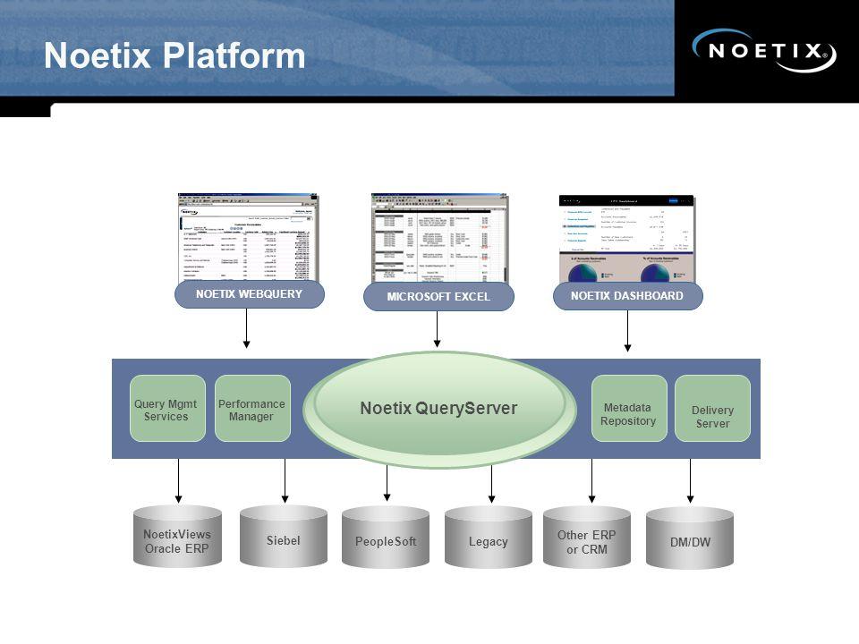 Noetix Platform Noetix QueryServer SW - Updated 12/07 NoetixViews