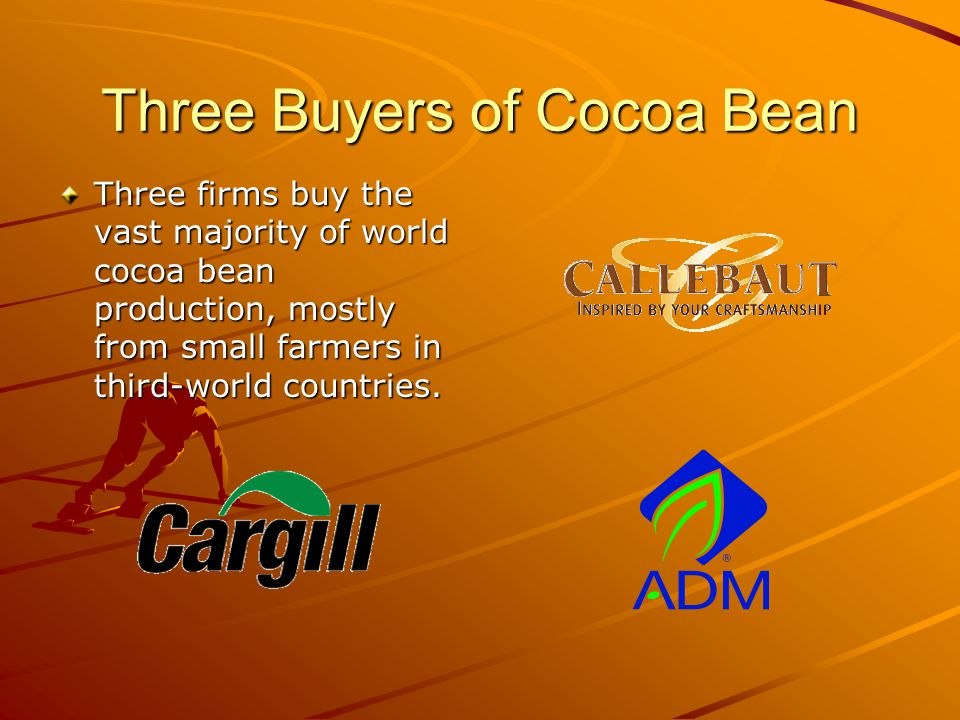 Three Buyers of Cocoa Bean