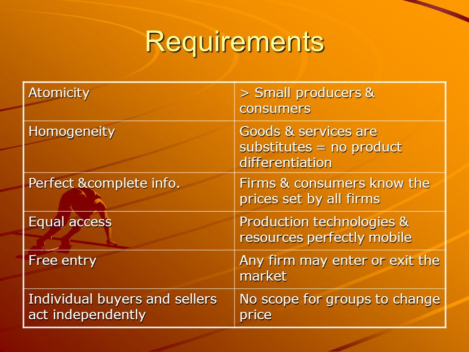 Requirements Atomicity > Small producers & consumers Homogeneity