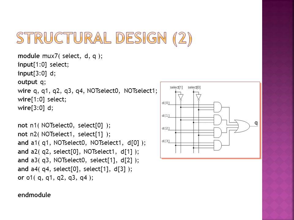 Structural design (2)