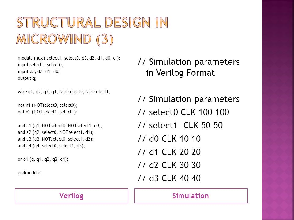 Structural design in MicroWind (3)