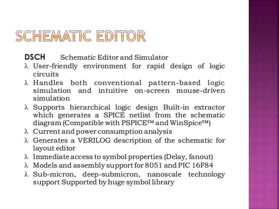 Schematic Editor