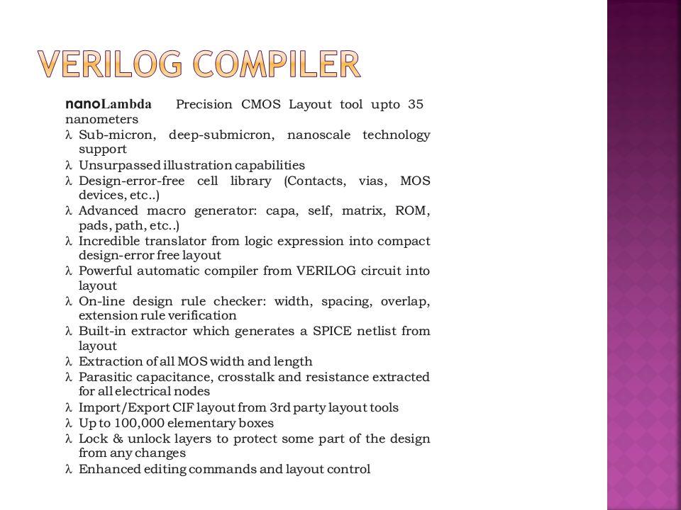Verilog Compiler
