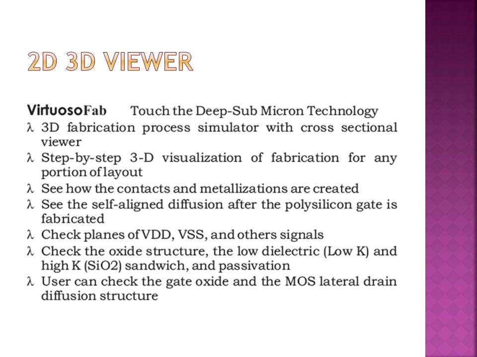2D 3D Viewer