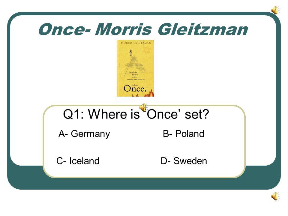 Once- Morris Gleitzman