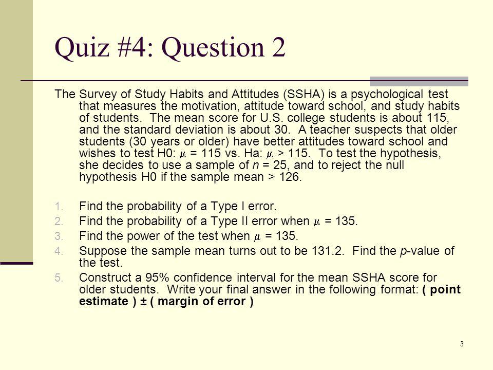 Quiz #4: Question 2