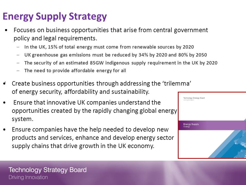 Energy Supply Strategy