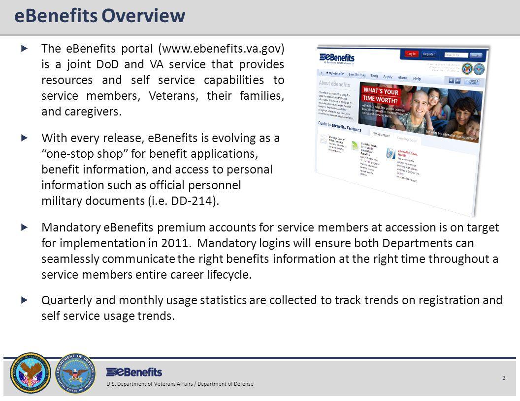 eBenefits Overview