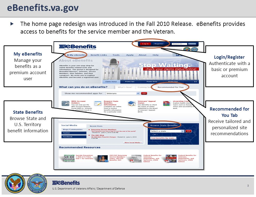 eBenefits.va.gov