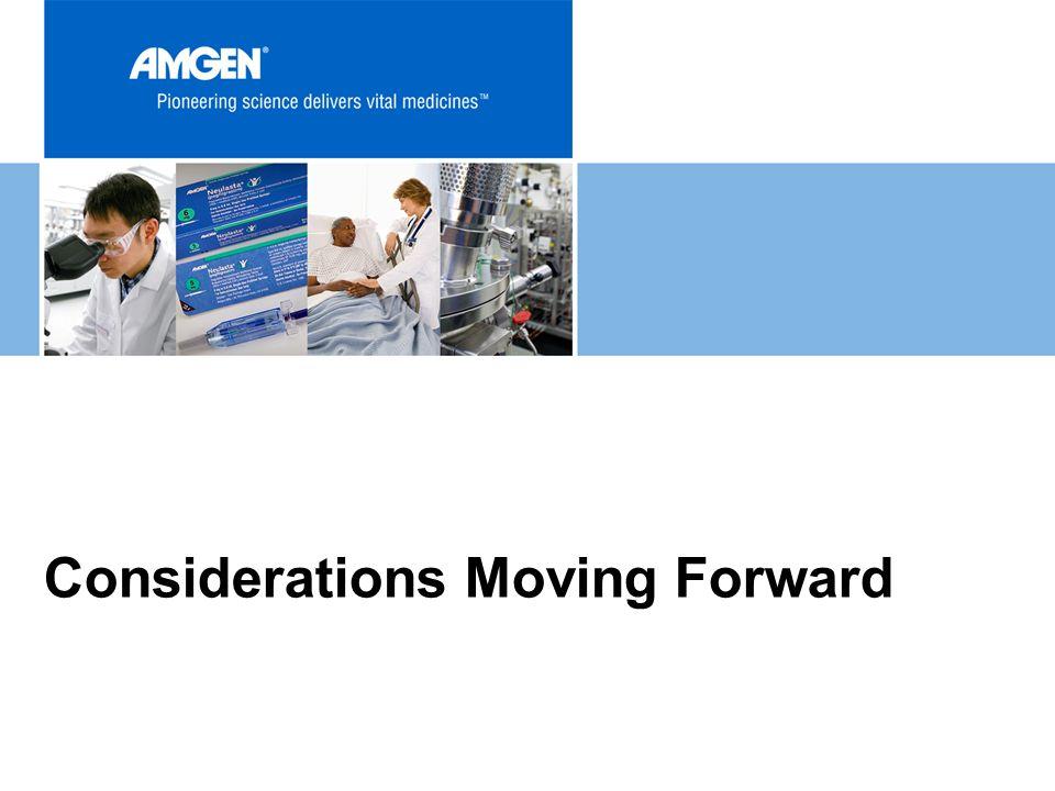Considerations Moving Forward