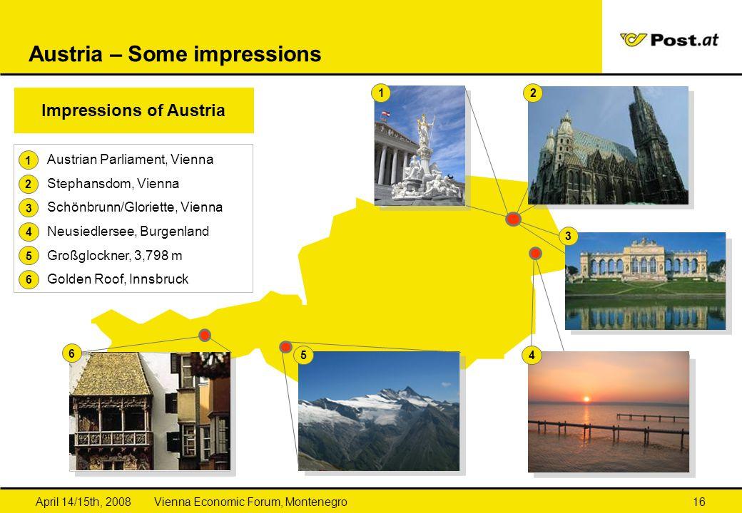 Austria – Some impressions