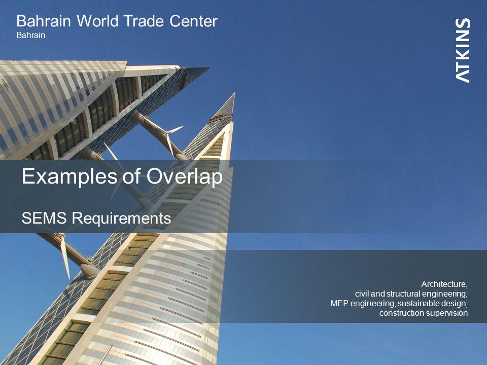 Bahrain World Trade Center Bahrain