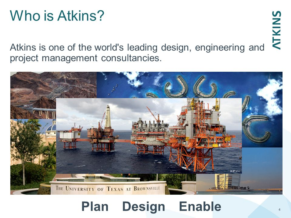 Who is Atkins Plan Design Enable