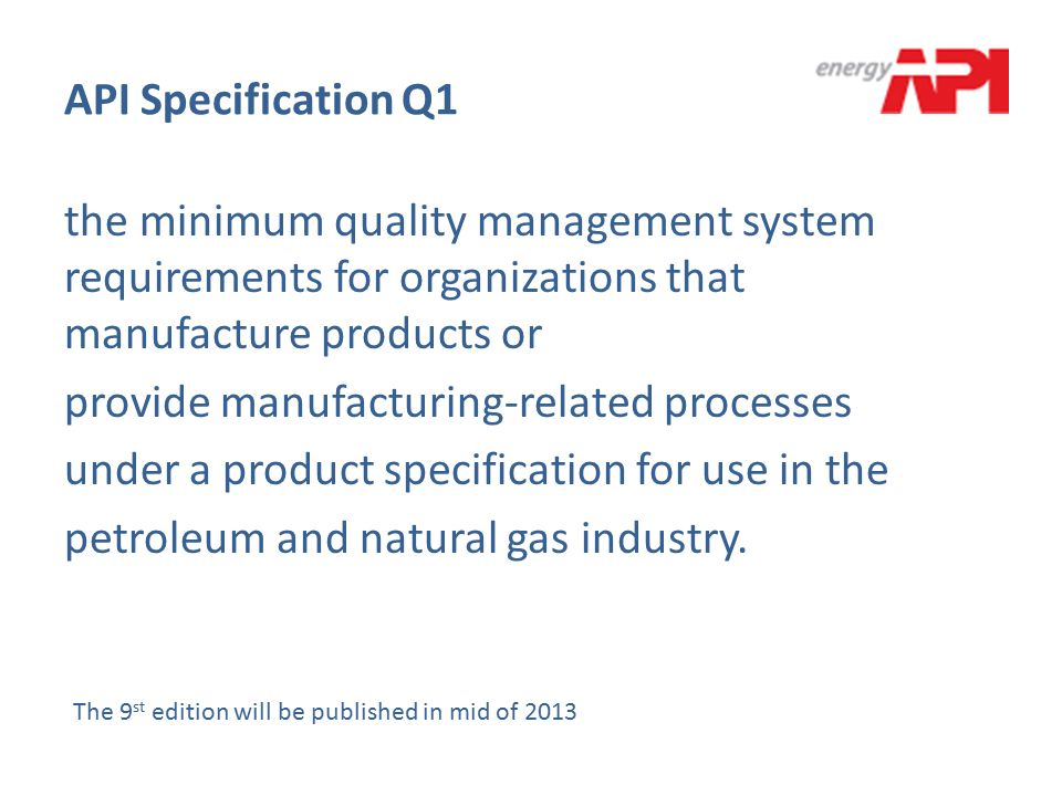 API Specification Q1
