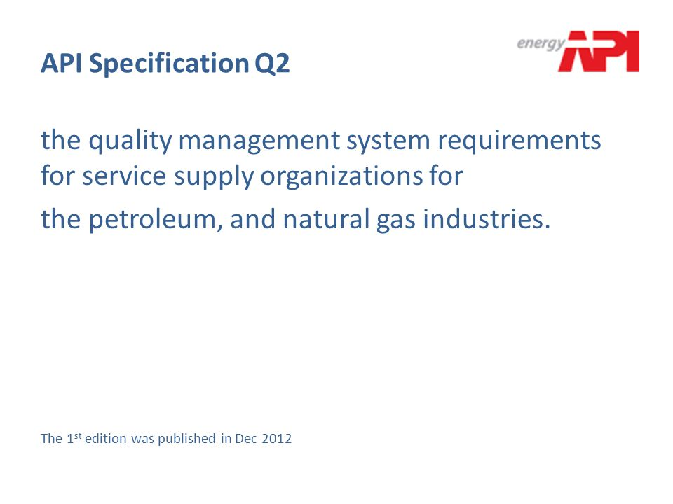 the petroleum, and natural gas industries.