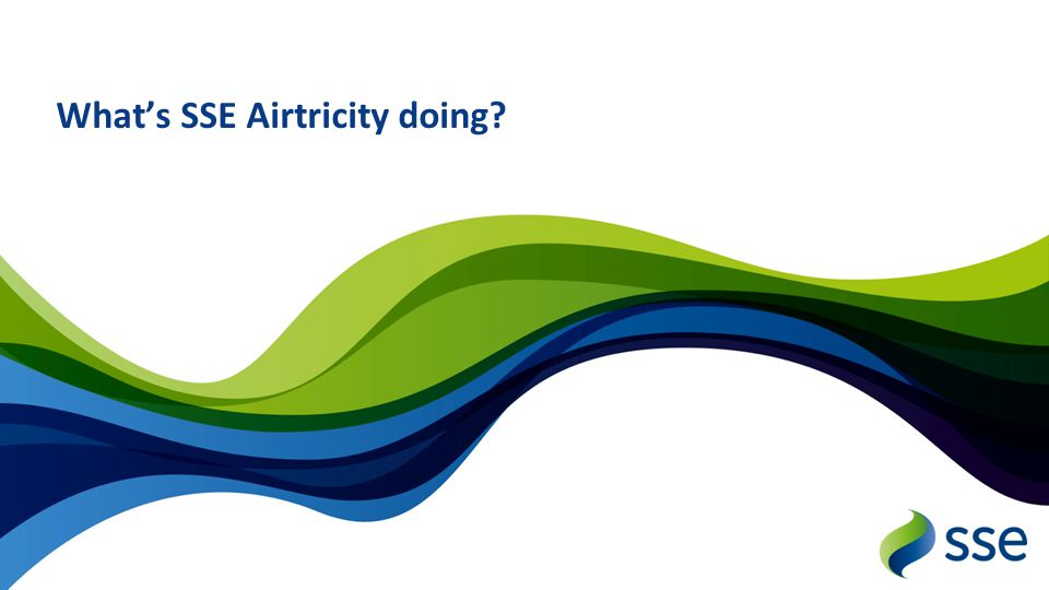 What's SSE Airtricity doing