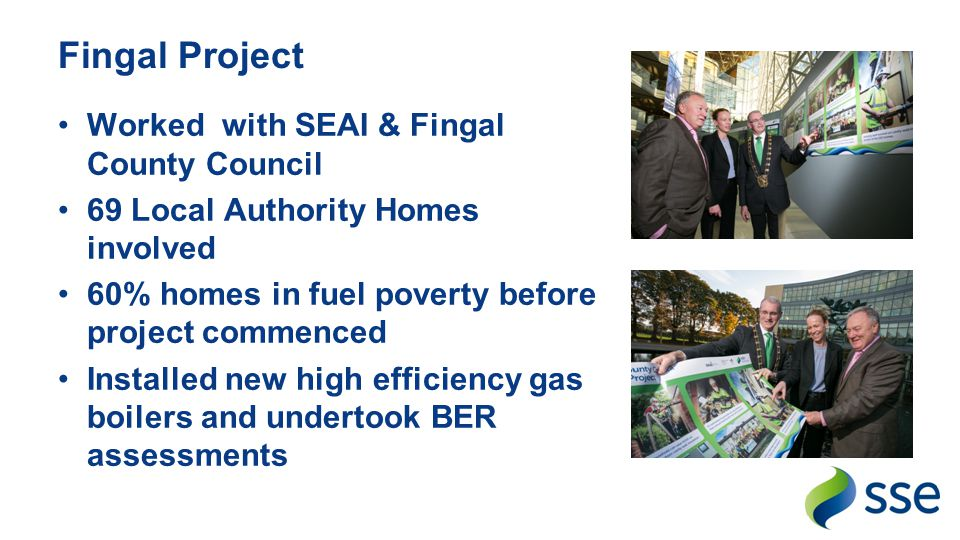 Fingal Project Worked with SEAI & Fingal County Council