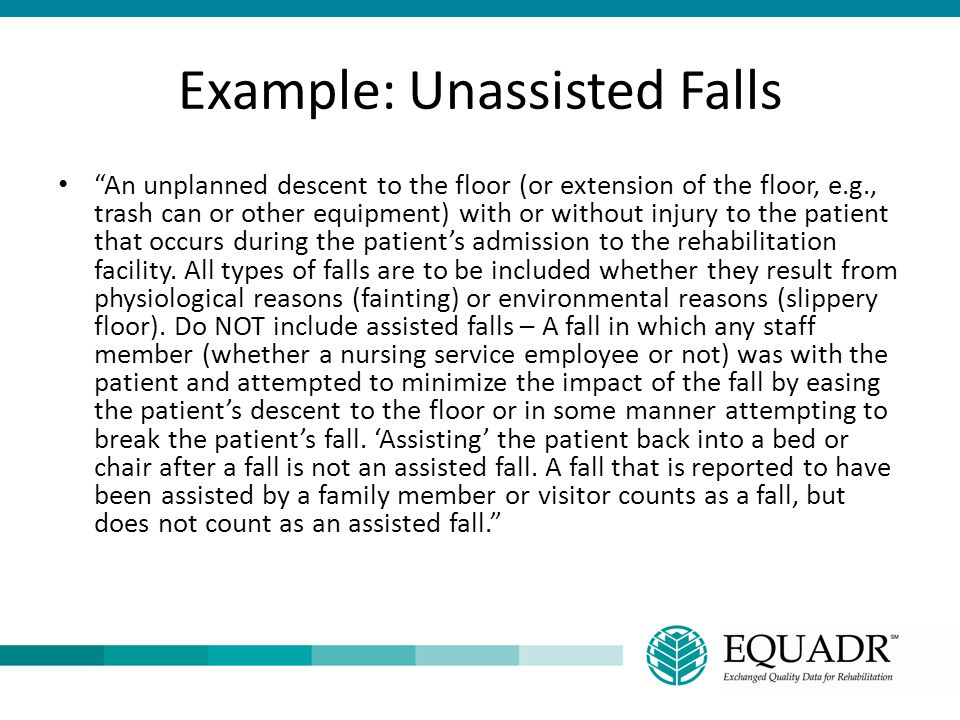 Example: Unassisted Falls