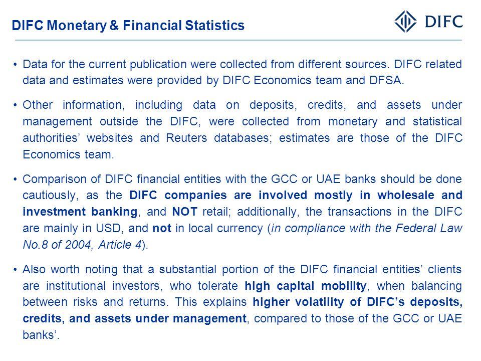DIFC Monetary & Financial Statistics