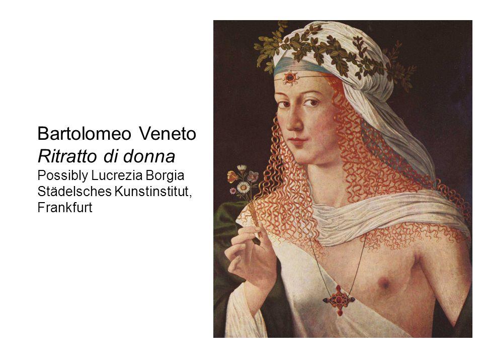 Bartolomeo Veneto Ritratto di donna Possibly Lucrezia Borgia