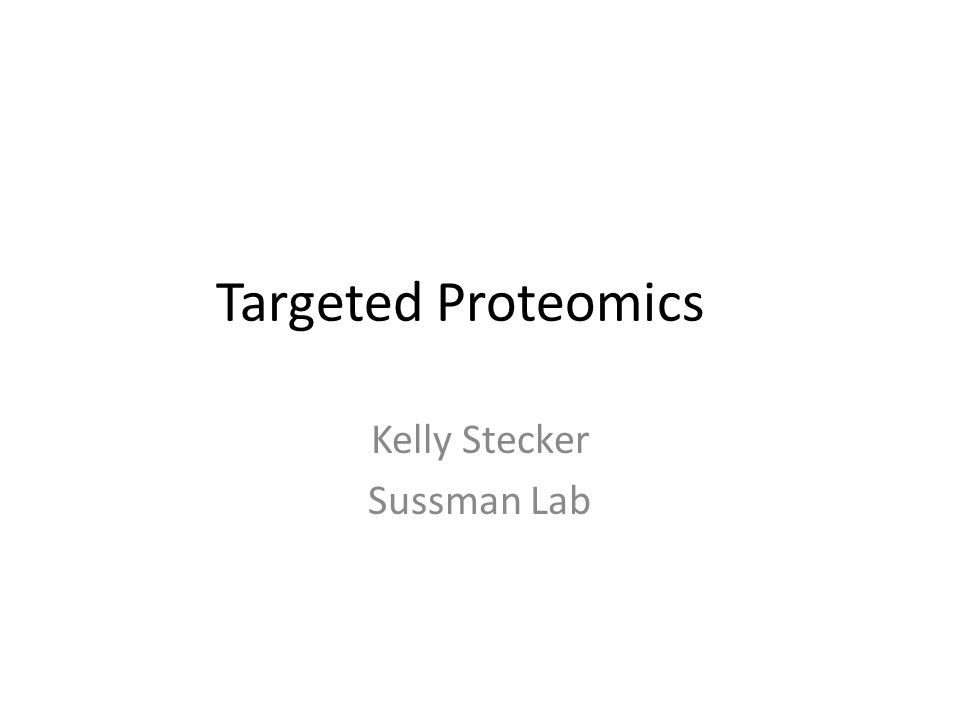 Kelly Stecker Sussman Lab