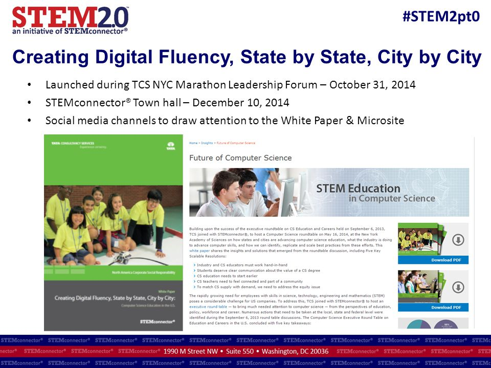 Creating Digital Fluency, State by State, City by City