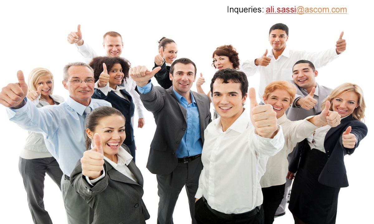 Inqueries: ali.sassi@ascom.com