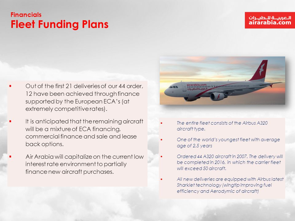 Fleet Funding Plans Financials