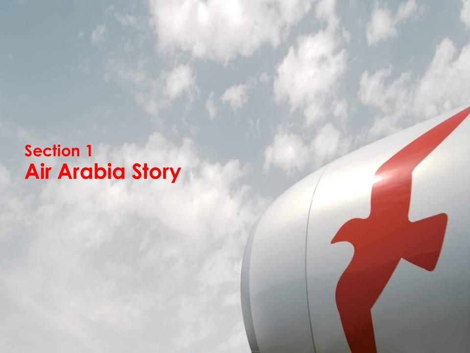 Section 1 Air Arabia Story