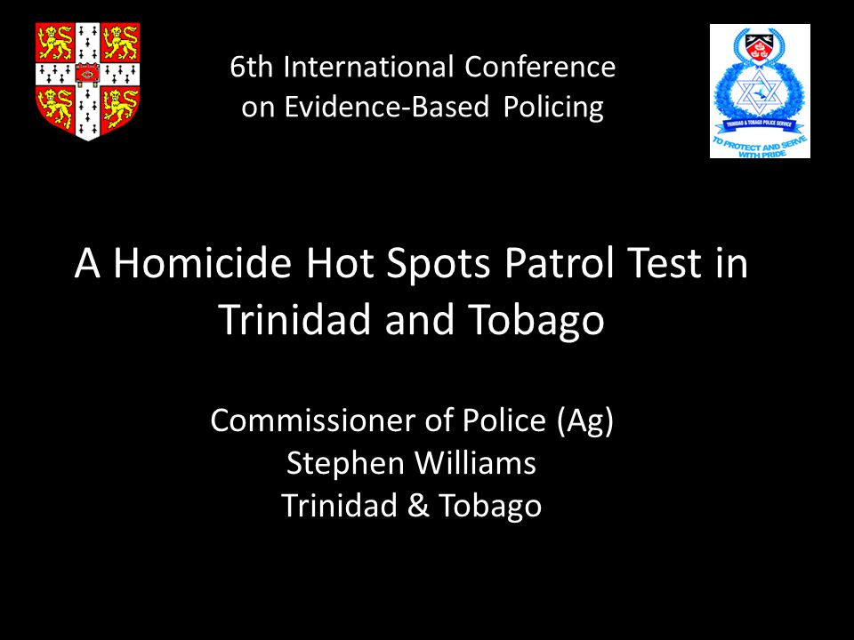 6th International Conference on Evidence-Based Policing