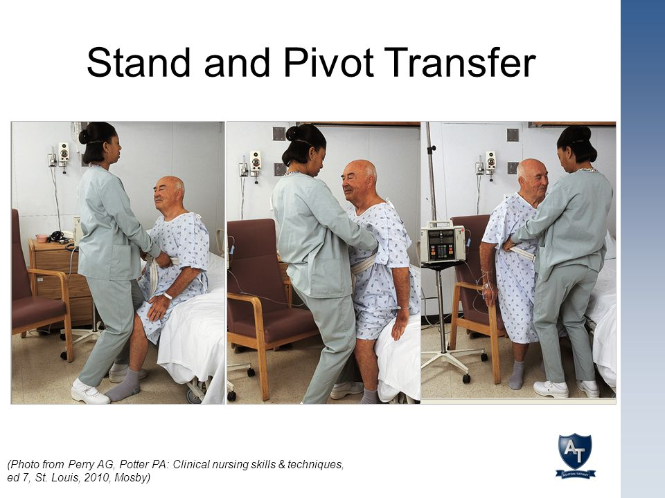 Stand and Pivot Transfer
