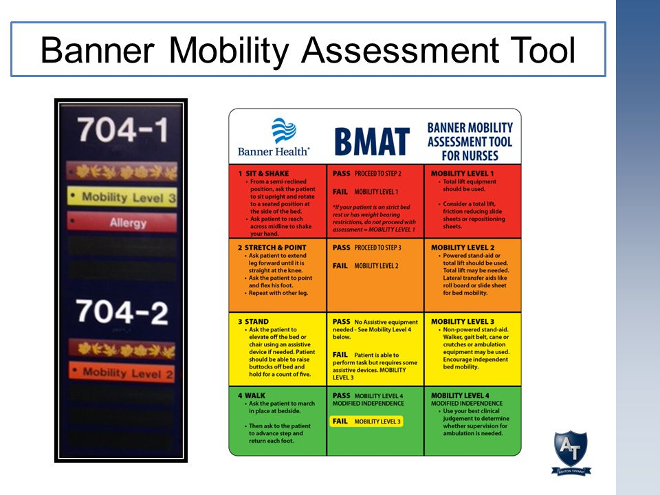 Banner Mobility Assessment Tool