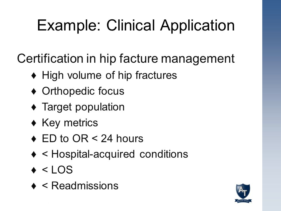 Example: Clinical Application