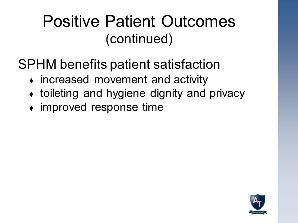 Positive Patient Outcomes (continued)
