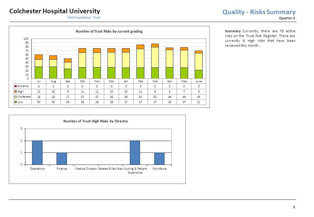 Quality - Risks Summary