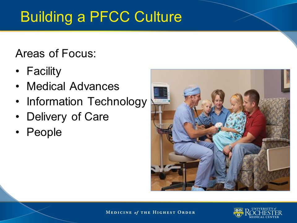 Building a PFCC Culture