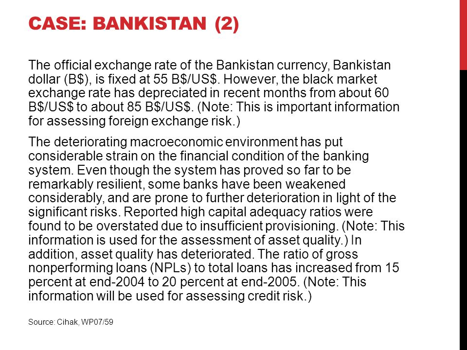 Case: bankistan (2)