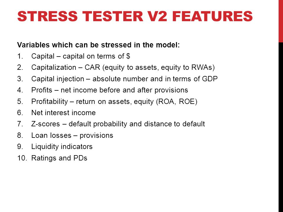 Stress Tester v2 Features