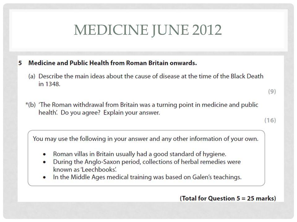 Medicine June 2012