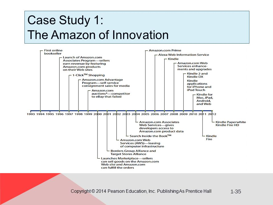 Case Study 1: The Amazon of Innovation