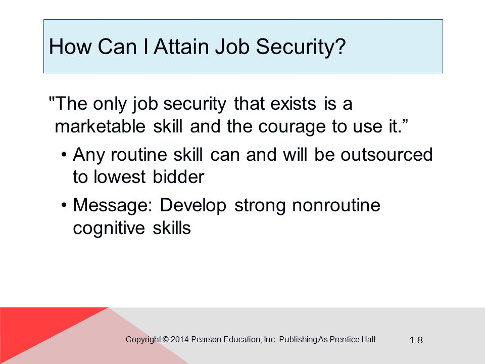 How Can I Attain Job Security