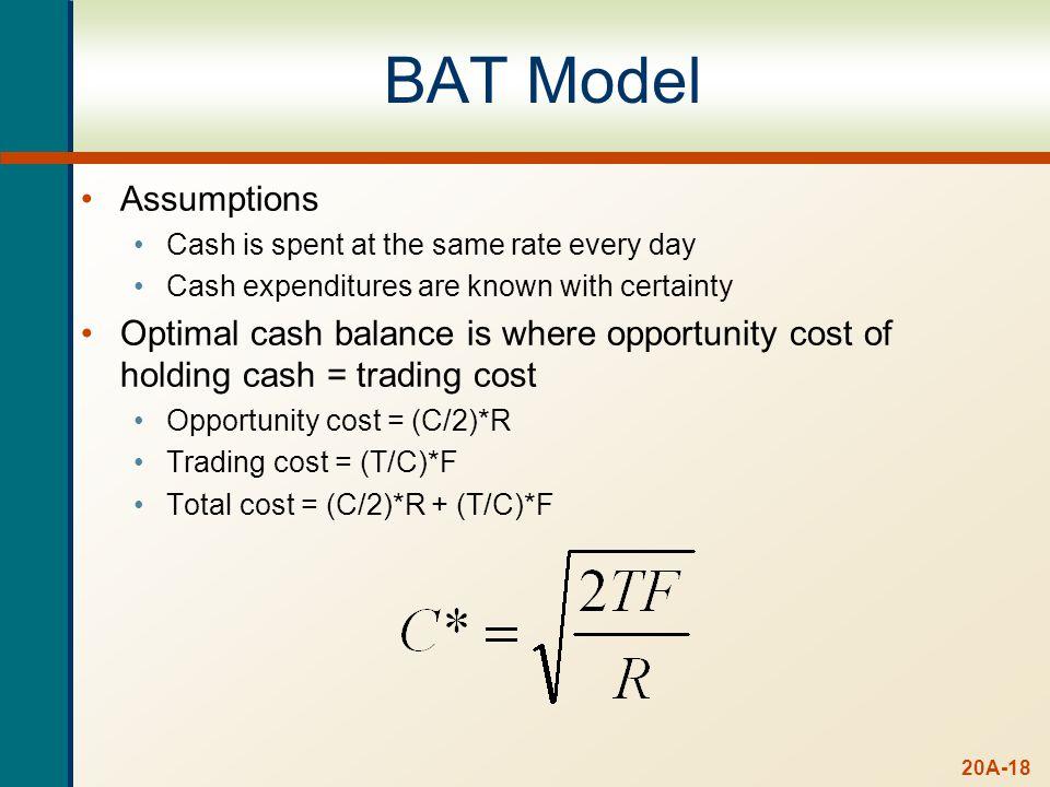 Example: BAT Model