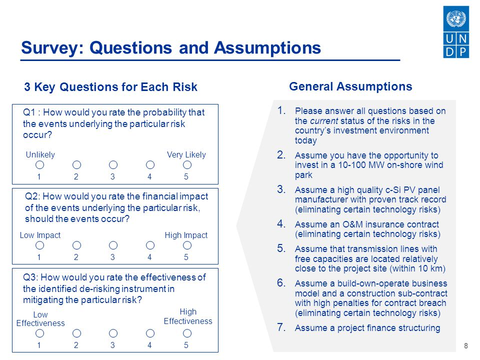 3 Key Questions for Each Risk